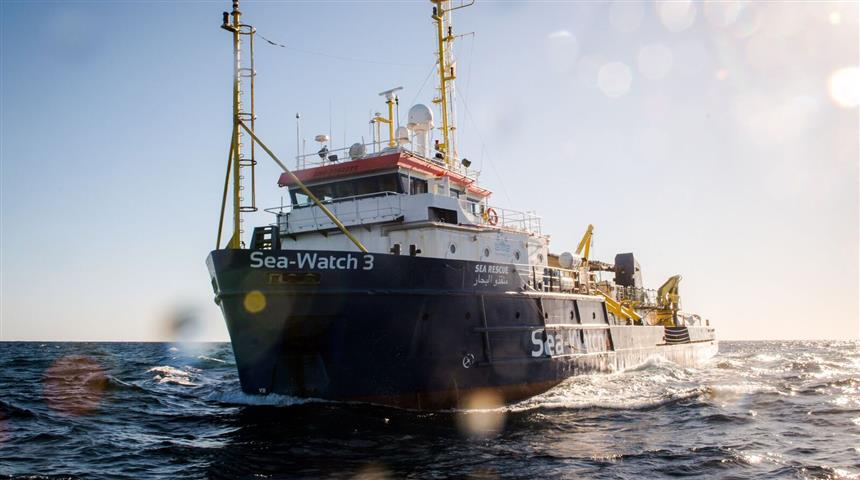 Migranti, la nave Sea-Watch 3 - SITO NUOVO