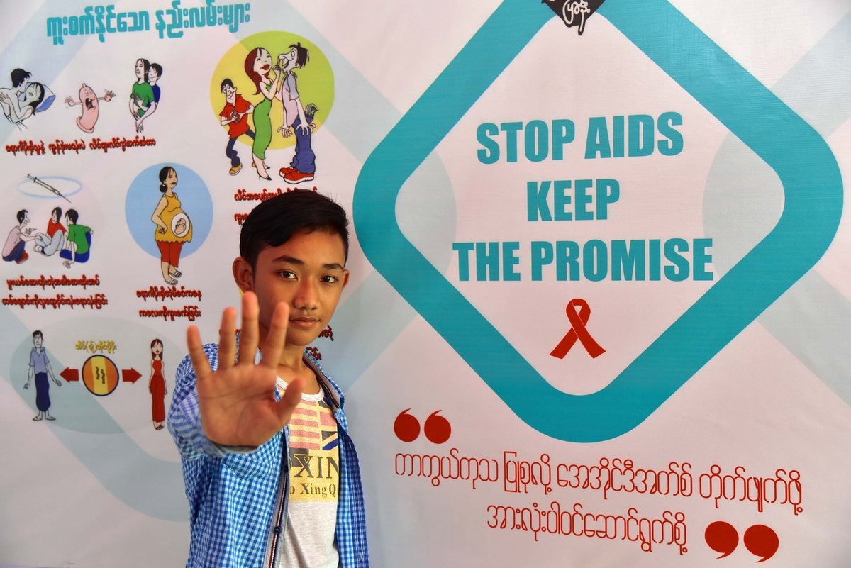 Stop Aids - Campagna unicef