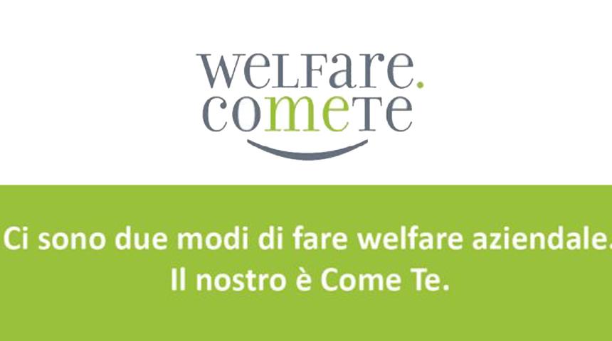 scritta welfare comete