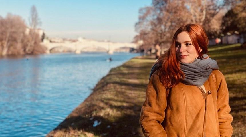 La regista Angela Canigliaro