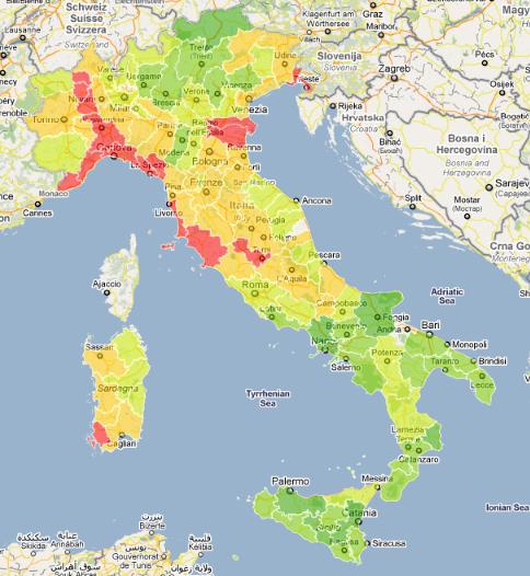 Cartina Italia Bambini.Atlante Dei Bambini In Italia La Mappa Di Un Tesoro A Rischio