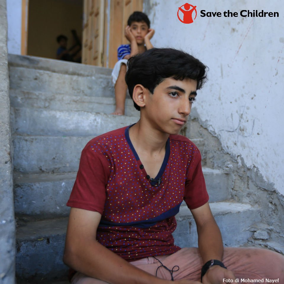Bambini di Gaza - Foto Save the children