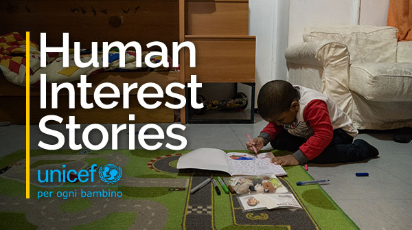 banner sidebar unicef human interest stories