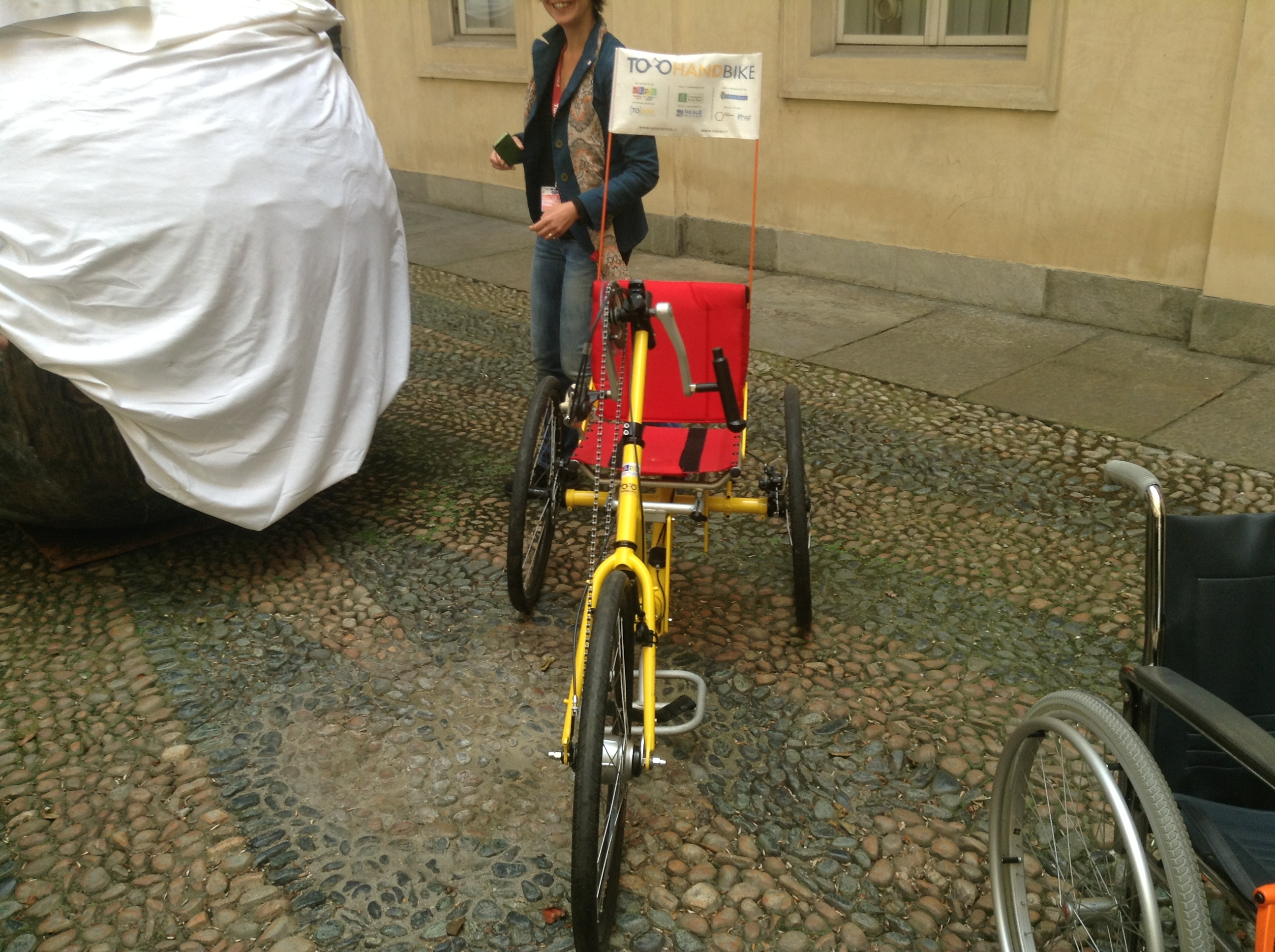 Bike sharing per disabili