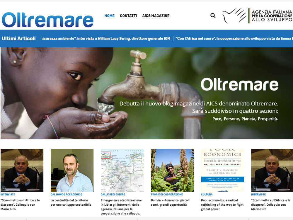 Blog Oltremare - home page