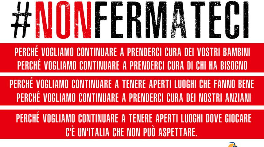 Campagna #nonfermateci