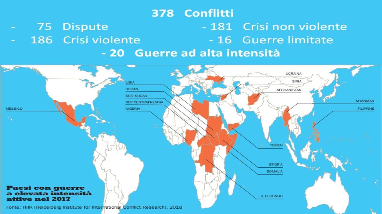 Cartina Guerre Nel Mondo.Diritti Caritas 378 Guerre Nel Mondo Spesa Record Per Le Armi Redattore Sociale