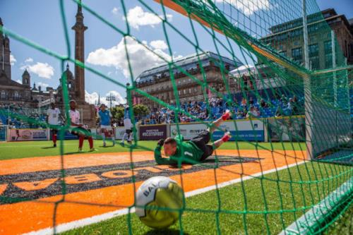 Homeless world cup - partita