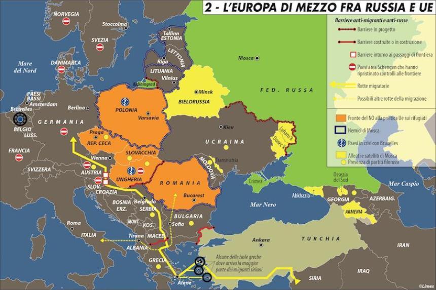 Cartina Europa E Medio Oriente.Medio Oriente Europa Usa E Russia Devono Farsi Un Esame Di Coscienza Redattore Sociale