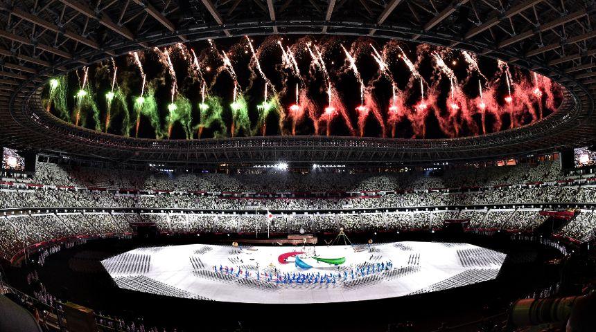 tokyo 2020 paralimpiadi cerimonia apertura